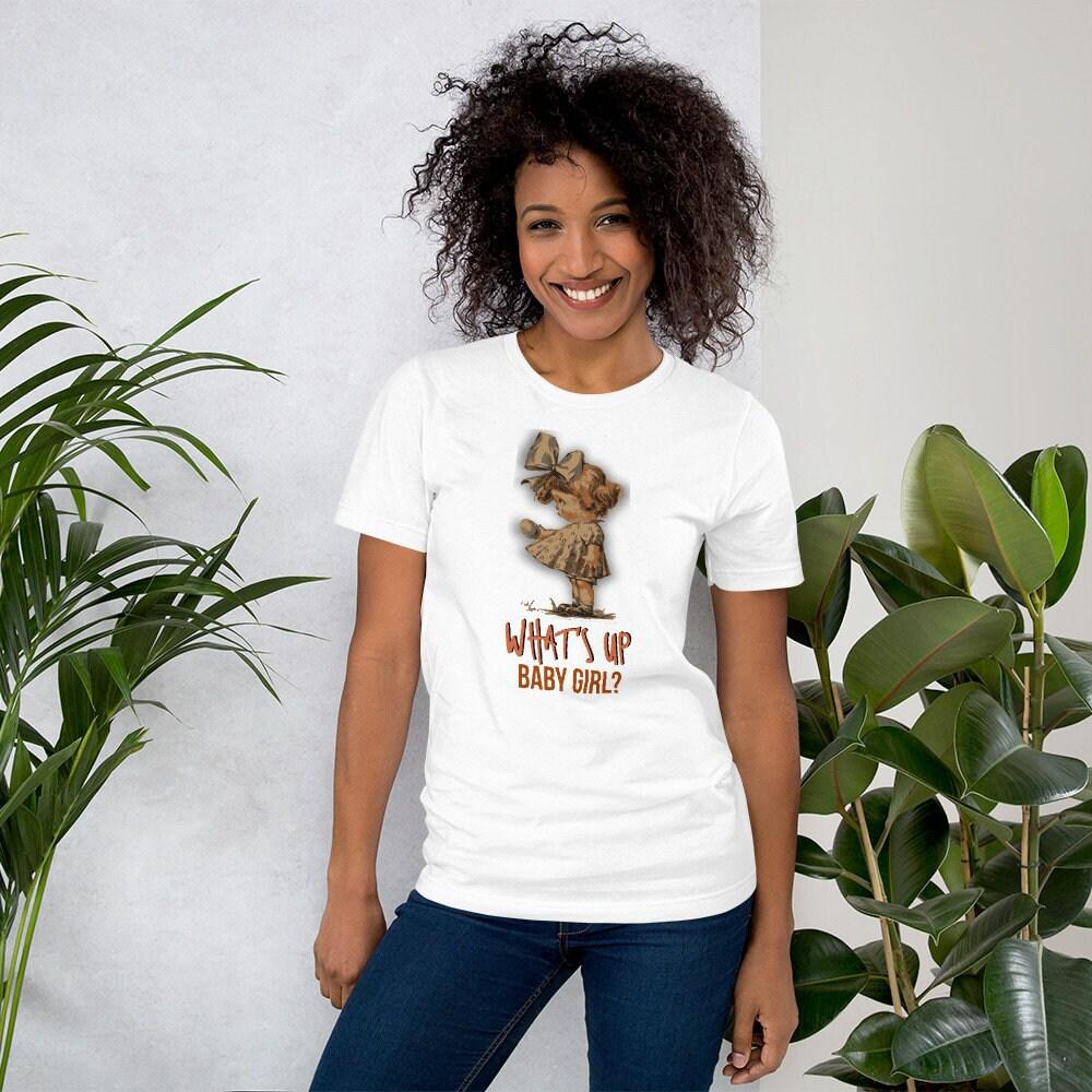 Lustige Sprüche Damen T-Shirt was ist bis Baby Mädchen | Etsy