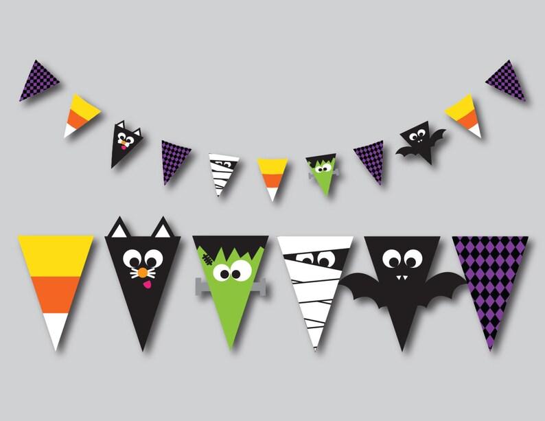Bannière pour baby shower halloween   A découvrir sur le blog : keepcoolnewmom.com