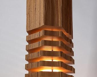 Modern Lighting Wood Light Sculpture