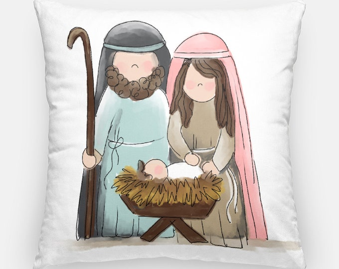 Featured listing image: Nativity Pillow