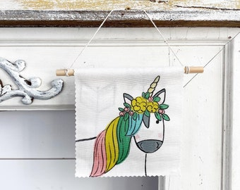 Unicorns - Banner/Wall Hanging/ Pennant