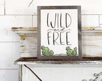 Wild Free Cactus
