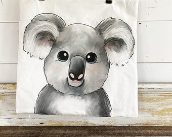 20x20 Pillow Cover | Koala