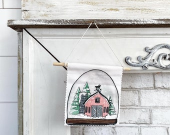 Snowglobe - Banner/ Wall Hanging/ Pennant