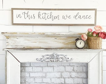 In this kitchen we dance - 6x36