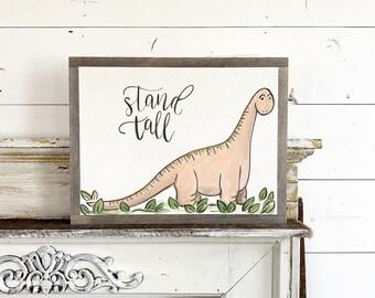 Stand Tall - Brontosaurus