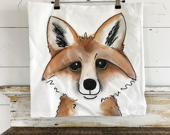 20x20 Pillow Cover | Fox