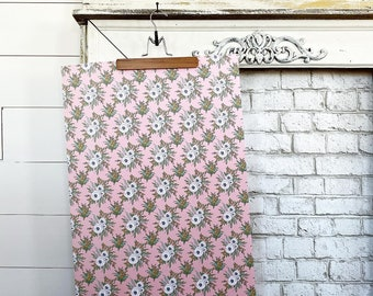 Gift Wrap - Small Pink Floral