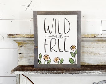Wild and Free Floral