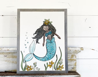 Mermaid - Customize this sign!