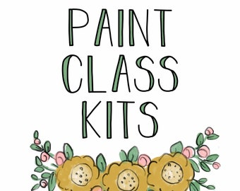 Three Blondes Private Class -  Paint Class Kits