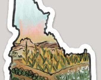 Idaho Sticker - Farmland / Southern Idaho / Ag Idaho