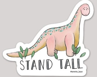 Stand Tall Brontosaurus / Long Neck Sticker
