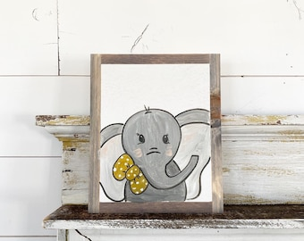 Elephant with Bow tie