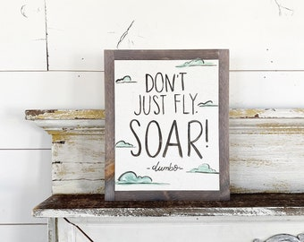 Don't just fly. soar!