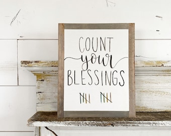 Count your blessings (rainbow)