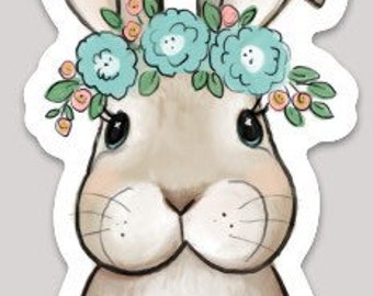 Bunny Rabbit Sticker
