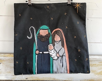 20x20 Pillow Cover | Nativity