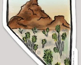 Nevada Sticker - Desert