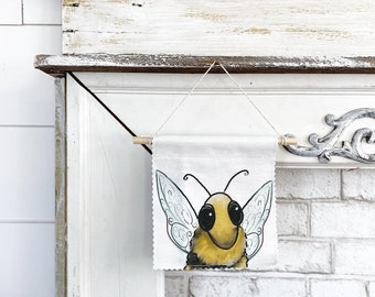 Bumble Bee - Banner/Wall Hanging/ Pennant