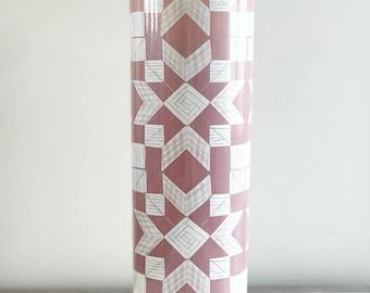 Farm Quilt / Light Pink