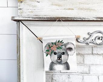 Koala - Banner/Wall Hanging/ Pennant