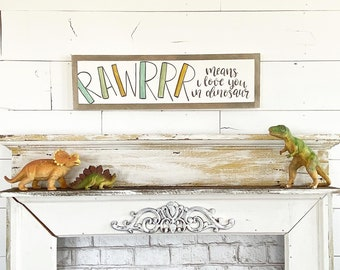 Rawrrr means I love you in dinosaur - 6x24