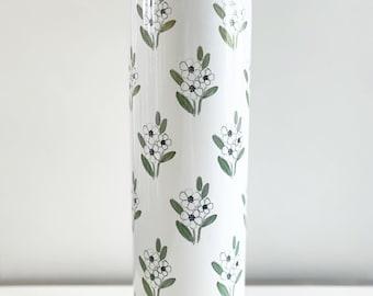 White Floral / White
