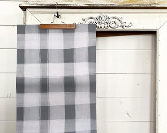 Gift Wrap - Gray Plaid Check - 2 Pack