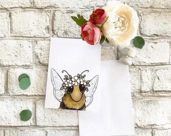 Bumblebee - Blank Greeting Card