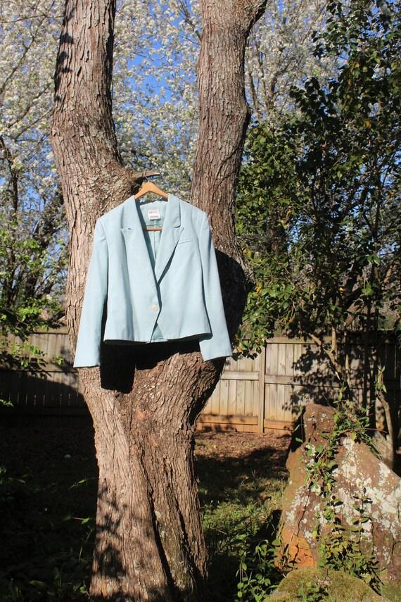 Vintage 60s/70s Light Blue Blazer