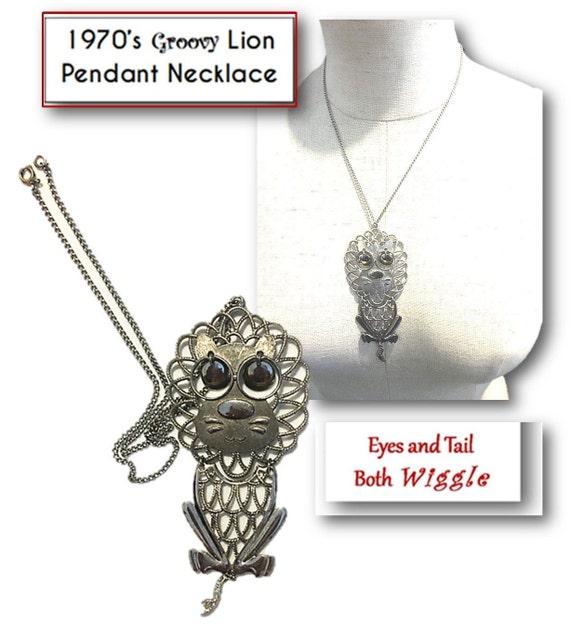 Costume 18 Silver tone Snake Chain Necklace w Citrine Topaz Cradle Pendant