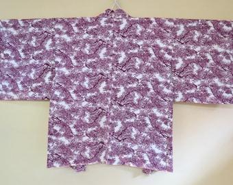 ART KIMONO  Very Fine Japanese Vintage Homongi  Kimono  Silk Kimono  Kinsai  Peony  Vintage Japanese Silk Kimono  Boho  Gift for Her