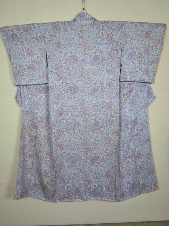 Kimono / Silk / Japanese Kimono / Showa / Silk Kim