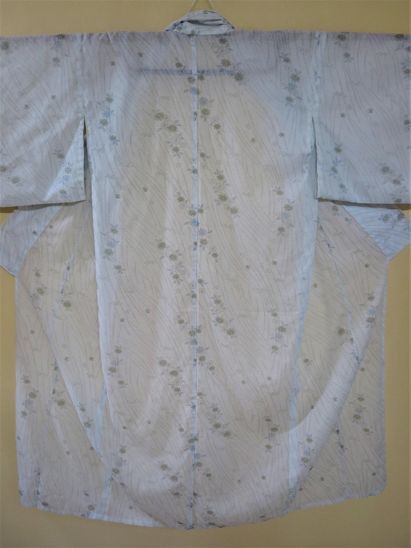 Vintage Scarf Styles -1920s to 1960s Boho, Kimono, Linen Yukata, Vintage Japanese Flowers Boho Kimono Robe, Gift For Her, Summer Robe $0.00 AT vintagedancer.com