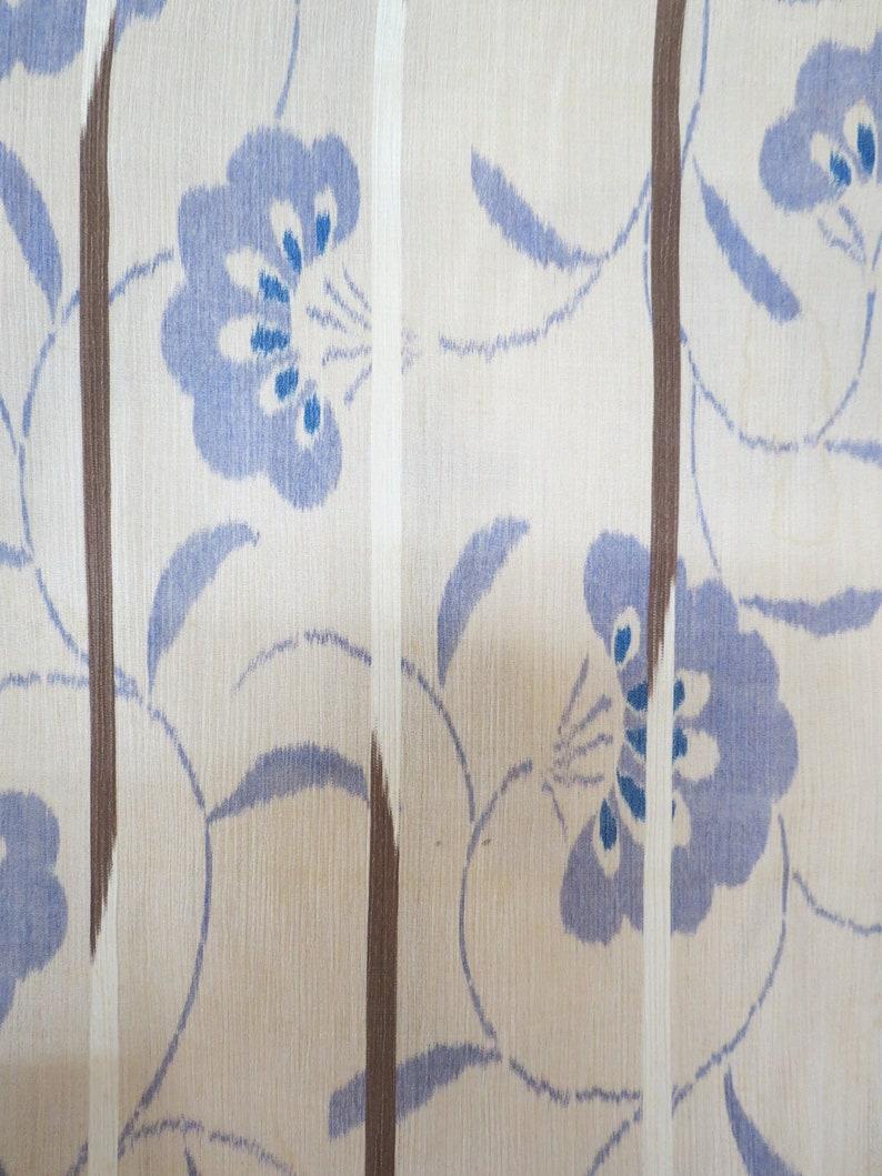 Kimono  See Through  Sheer Silk  Antique  Showa  Japanese Kimono  Vintage Silk Unlined Kimono  Boho  Geisha Robe  1930/'s Kimono