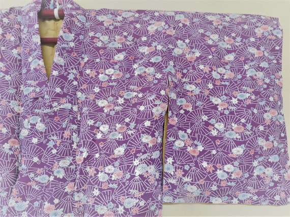 Kimono / Silk / Japanese Vintage Silk Kimono/ Gorg