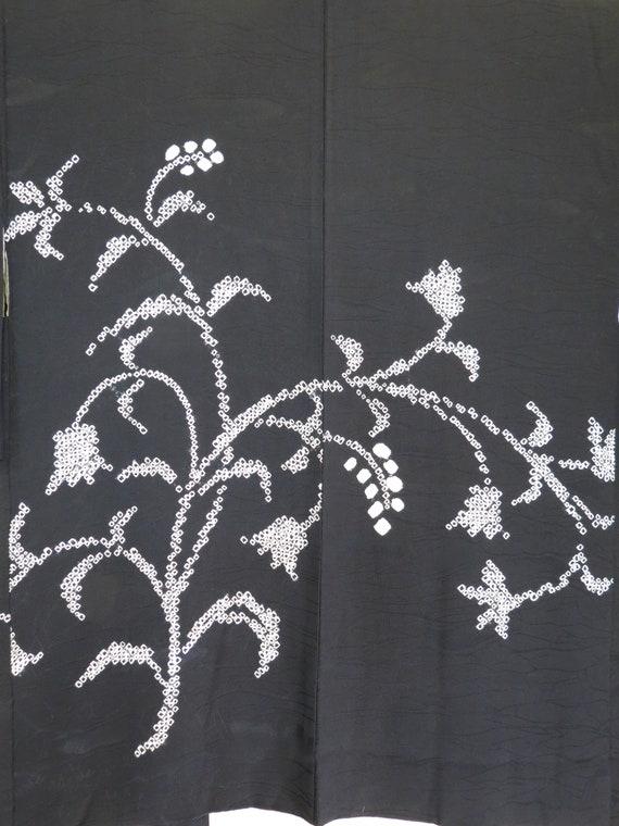 KIMONO SILK Japanese Vintage Homongi Kimono Urushi Woven HandDrum and Stream Pink Vintage Japanese Silk Kimono Glowing Sparkle Urushi Drum