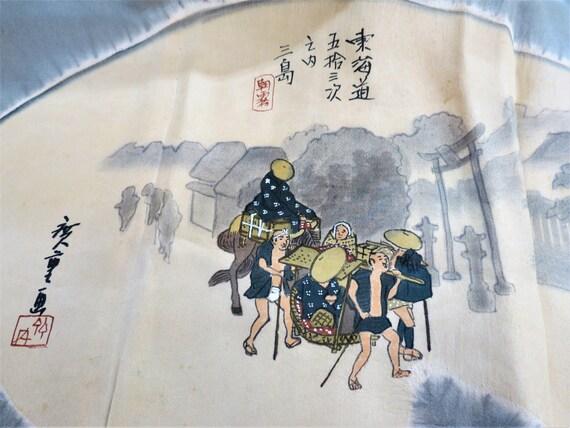 MENS KIMONO JUBAN /Antique Japanese Silk Juban/ Un