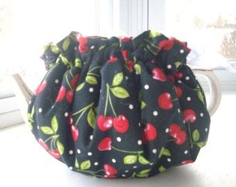 Cheerful Red & White Polka Dots Tea Cozy