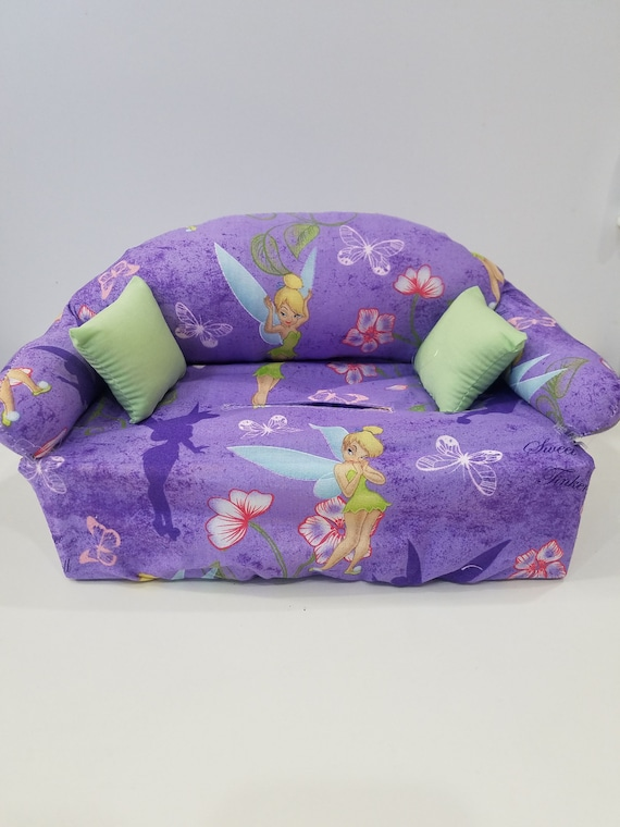 Tremendous Light Purple Tinkerbell Couch Tissue Box Cover Unemploymentrelief Wooden Chair Designs For Living Room Unemploymentrelieforg