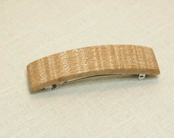 Western Maple Barrette / Hair Clip / French Barrette (#2)