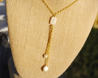 Pearl Drops Necklace