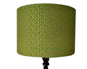 Metallic lamp shade etsy 30cm drum lampshade aloadofball Image collections