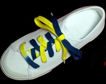 Learn to tie Navy Blue and Yellow