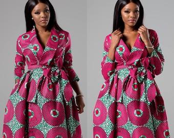 f0c7fffbc84 African print dress