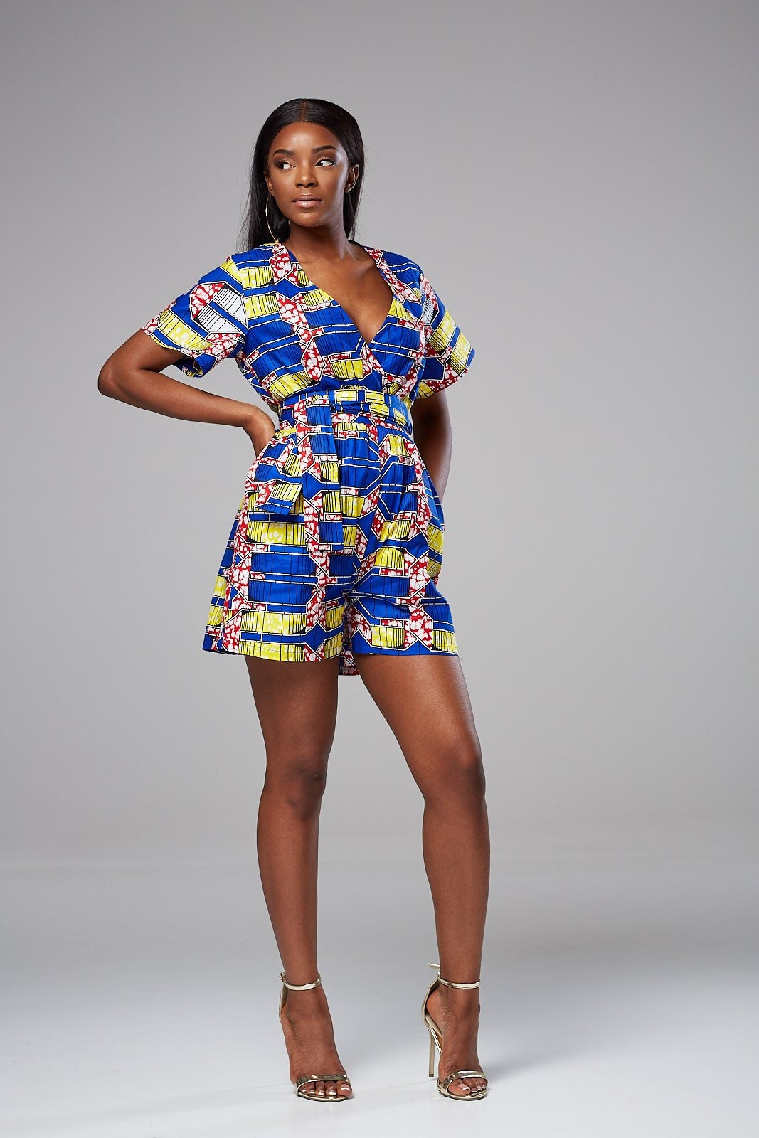 dadb76ac8200 Dashiki romper African clothing for women African romper