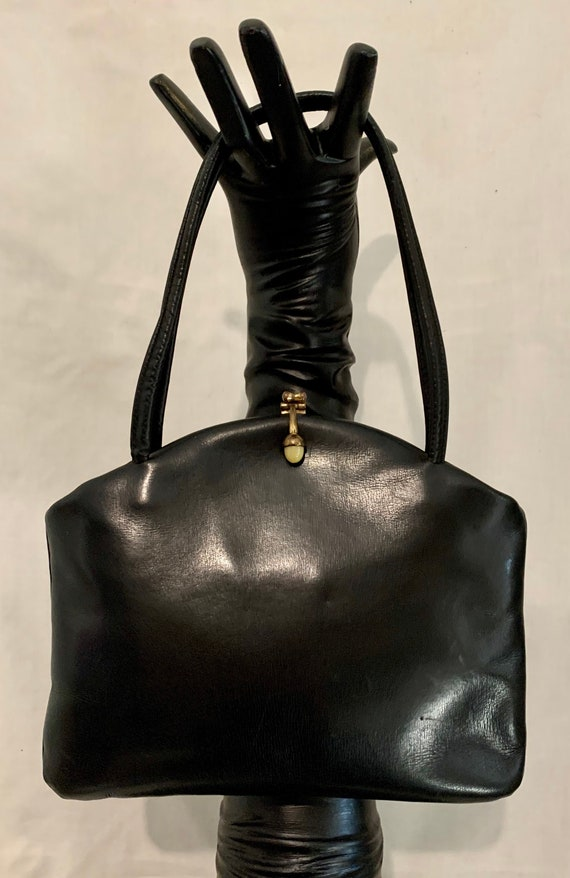 40's leather bag