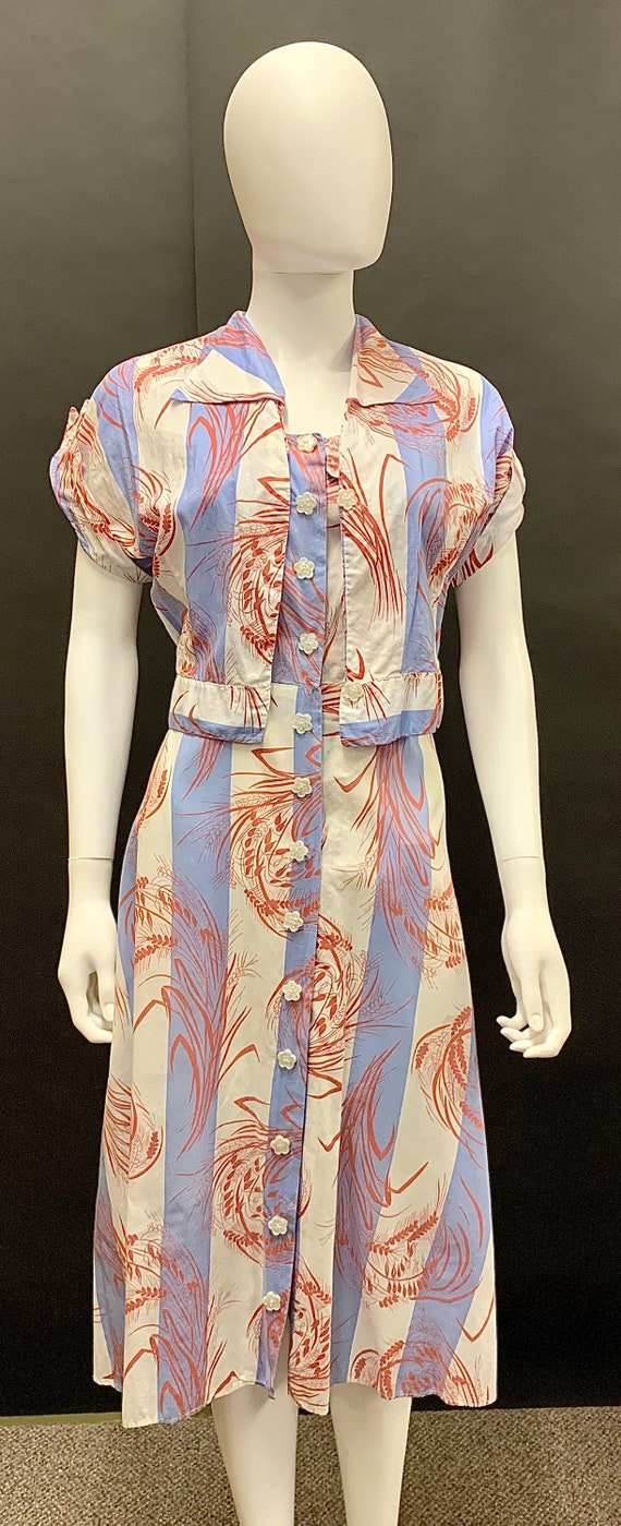 1940's dress and bolero - image 1