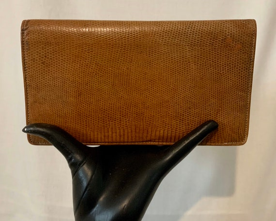 Early 40's lizard skin bag